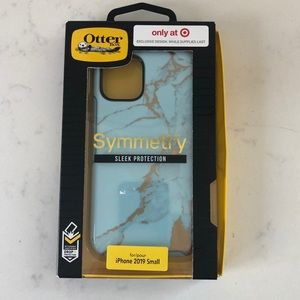 New! OtterBox Symmetry Blue and Gold Marble